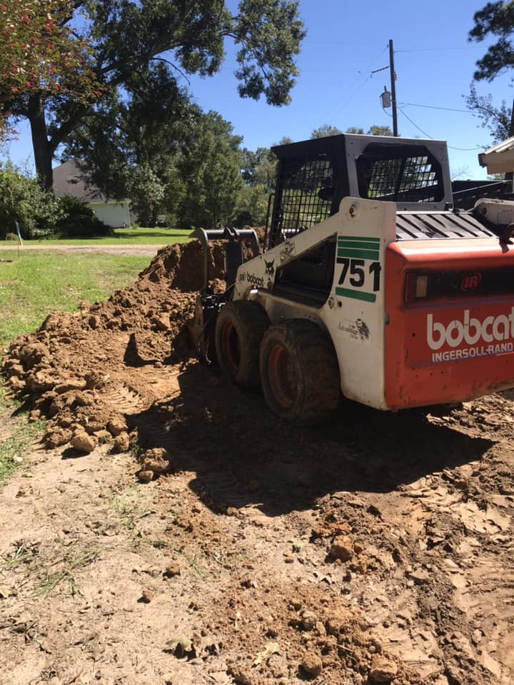 bobcat working