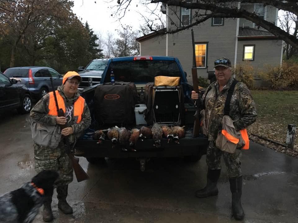hunting pheasants